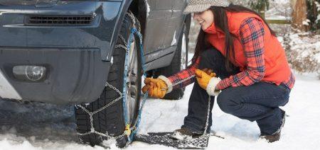 Autós hóláncok extrém téli körülmények között történő vezetéshez